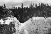 Frozen Top of Helmcken Falls - © Sharon Jensen