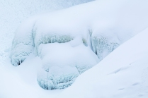 Icicles in the Snow-Helmcken Falls - © Sharon Jensen