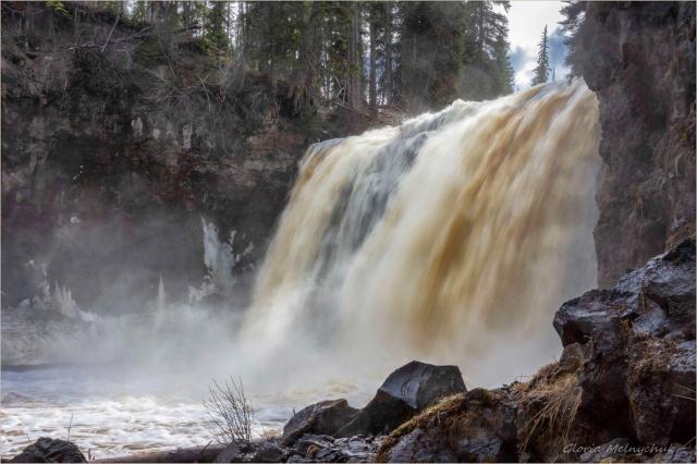 Moffat Falls, Cariboo ~ Gloria Melnychuk