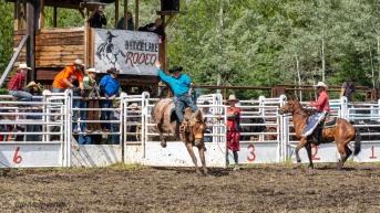 Rodeo_DSC1048-308 - Bill Melnychuk at 70th Annual Bridge L:ake Rodeo