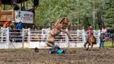 Rodeo_DSC1050-312 - Bill Melnychuk at 70th Annual Bridge L:ake Rodeo