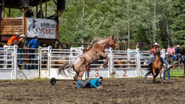 Rodeo_DSC1051-314 - Bill Melnychuk at 70th Annual Bridge L:ake Rodeo