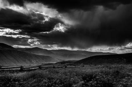 Thunderstorm-4971bw - Gloria Melnychuk