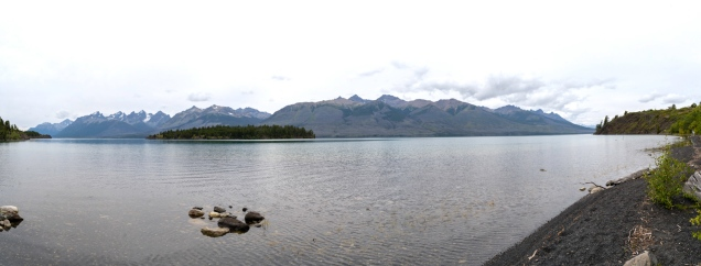 Chilko Lake - At the Campsite - Derek Chambers