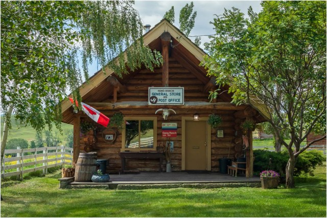 Gang Ranch General Store and Post Office - © Sharon Jensen