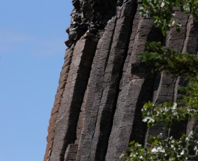 Detail - Basalt Columns, Crest of Cardiff Mountain, Nemaiah Valley - Nancy Cunningham