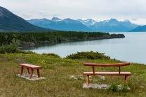 From the Viewpoint, Chilko Lake - Nigel Hemingway