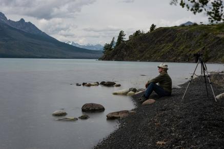 On the shores of Chilko Lake - Nigel Hemingway