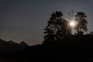 The Moon - Elkin Creek Guest Ranch, Nemaiah Valley - Nigel Hemingway