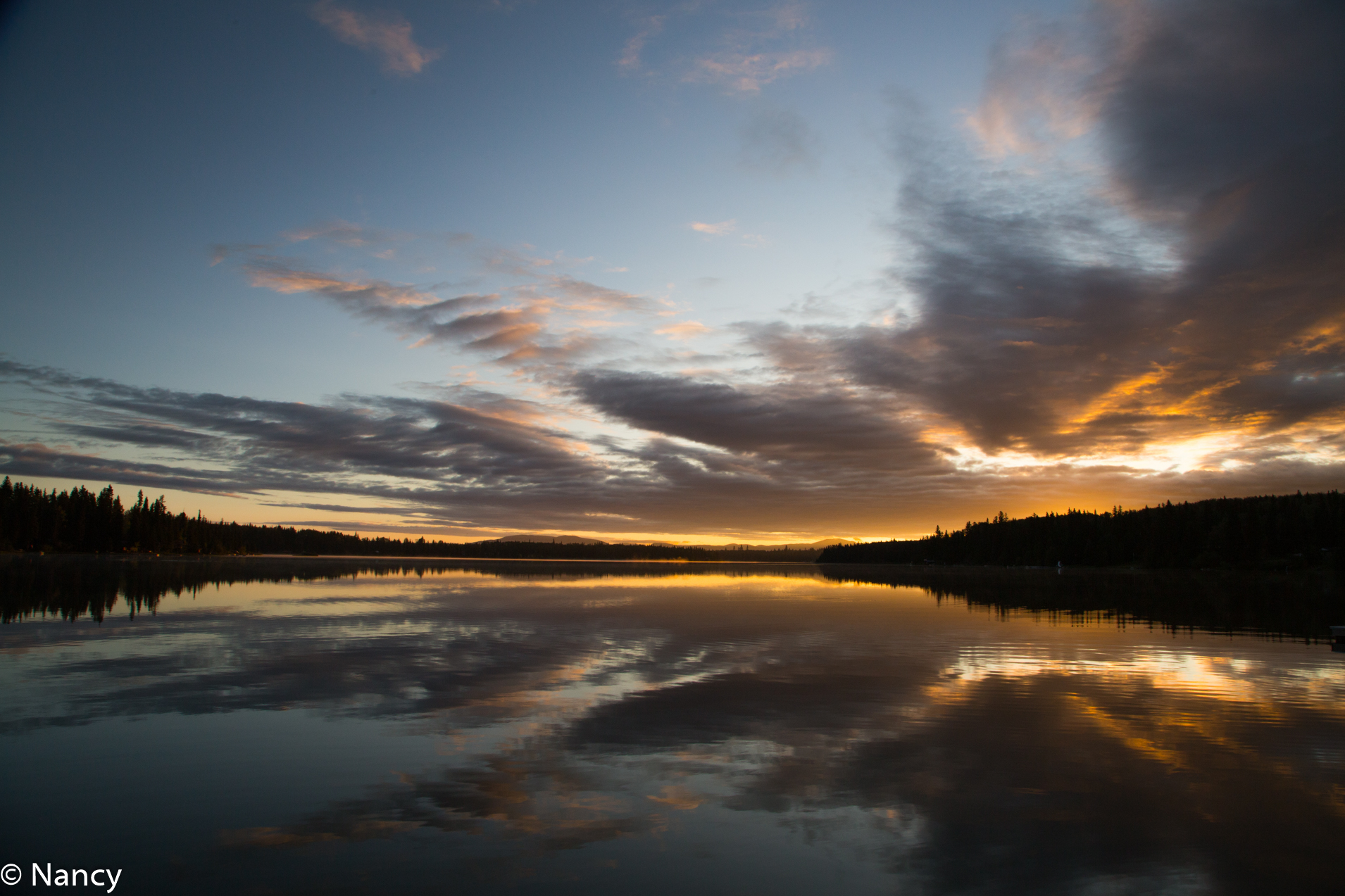 Sheridan Lake Sunrise -Nancy Cunningham