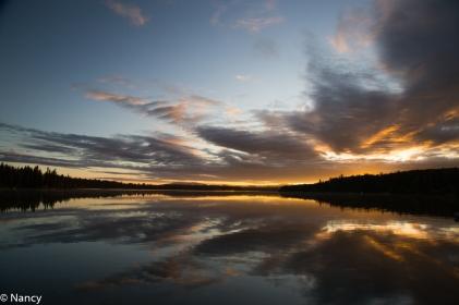 Sheridan Lake Sunrise -Nancy Cunningham
