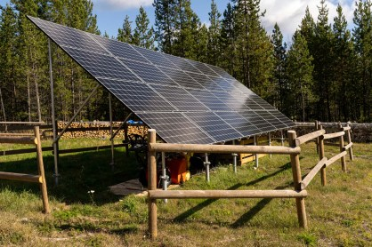 Solar Array - Wolf Valley Ranch - Derek Chambers