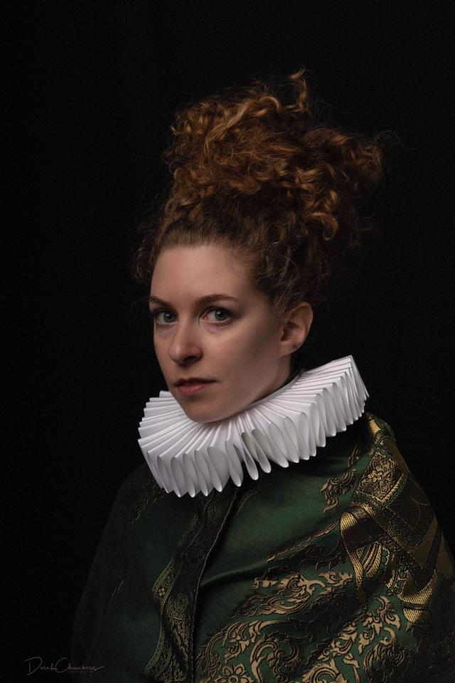 Portrait - Elsji de Graaf, Leiden 1628 - Derek Chambers S5318