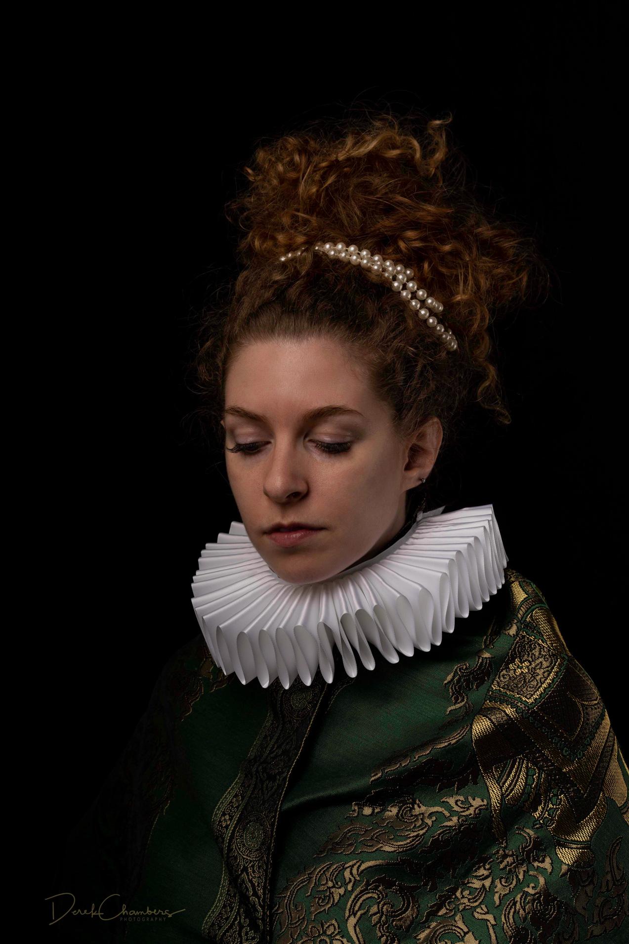 Portrait - Elsji de Graaf, Leiden 1628 - Derek Chambers S5328