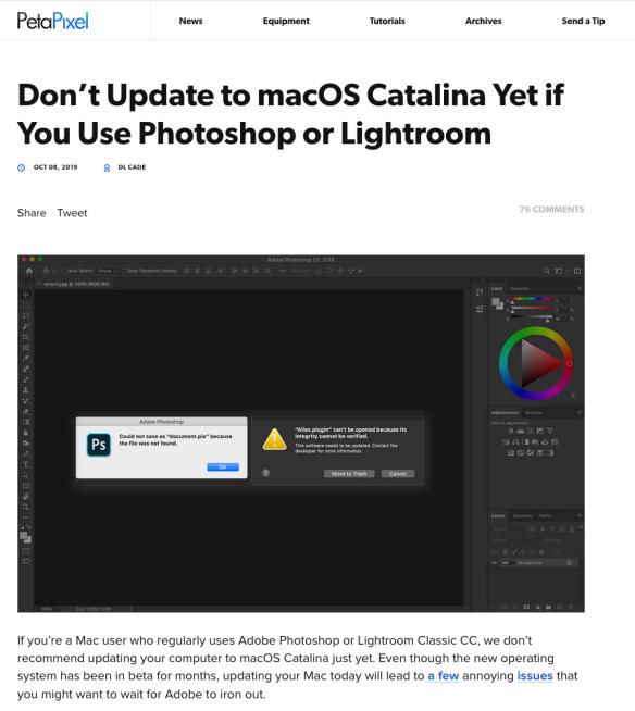 Adobe Lightroom 5 Macos Catalina