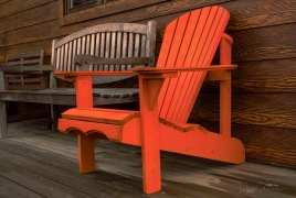 Green Energy Homes - The Orange Chair - Derek Chambers
