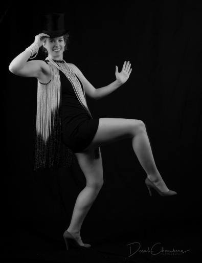Kendra Cox As Cabaret Dancer, Berlin, 1930 - Derek Chambers
