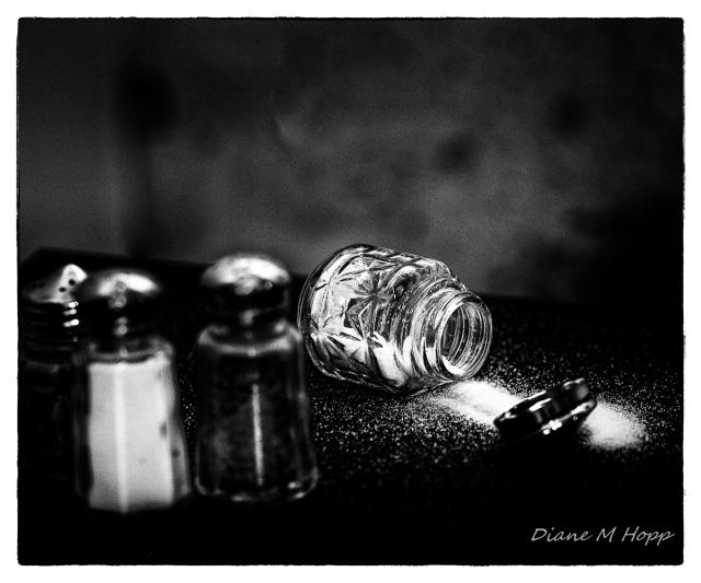 Assaulted Salt Cellar - DMHopp