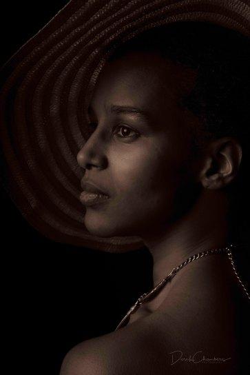 Portrait (Sepia): Alamaz Durand - Derek Chambers