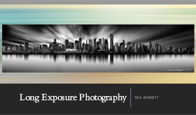 Long Exposure Photography Post