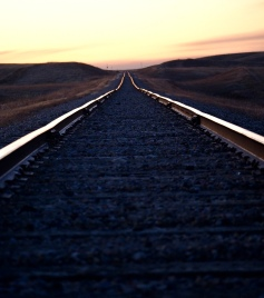 And the rails go on forever - Kevin Haggkvist