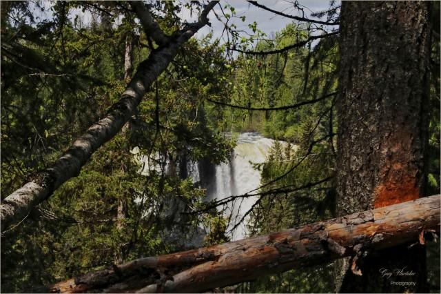 First Glimpse-Canim Falls- Gary Hardaker