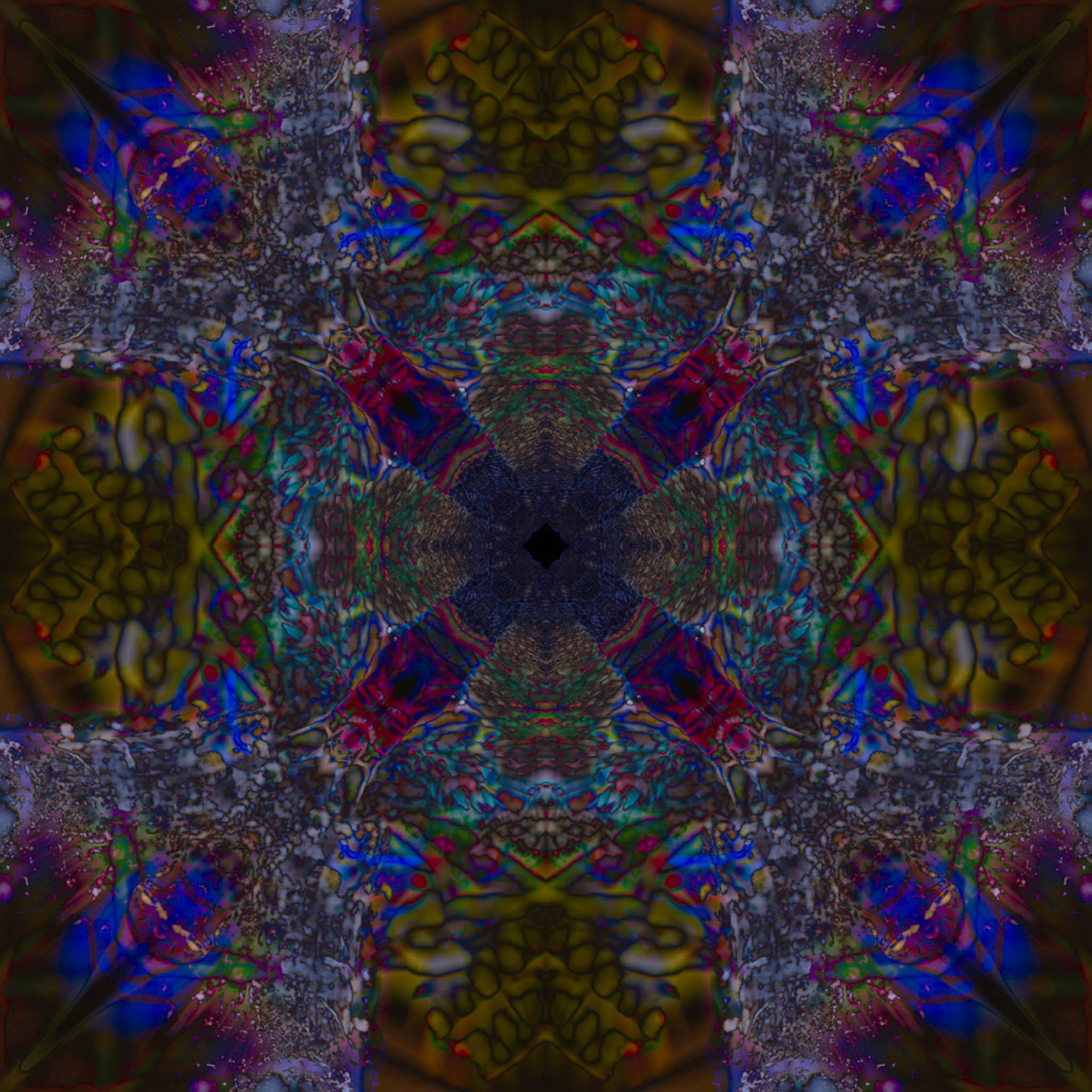 Mandala from Blue Honeycreeper - DMH