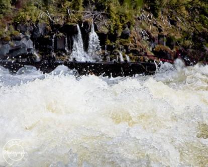 Top of Canim Falls - Nancy Cunningham