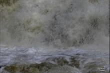 Abstract - Falls and Foam - Gary Hardaker