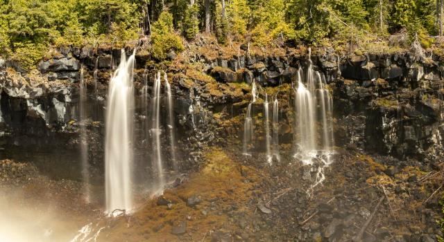 Canim Falls pano - Tamara Isaac