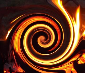 Fire twirl - Kevin Haggkvist