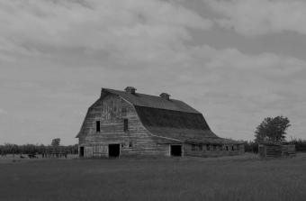 Old Saskatchewan Barn - Kevin Haggkvist