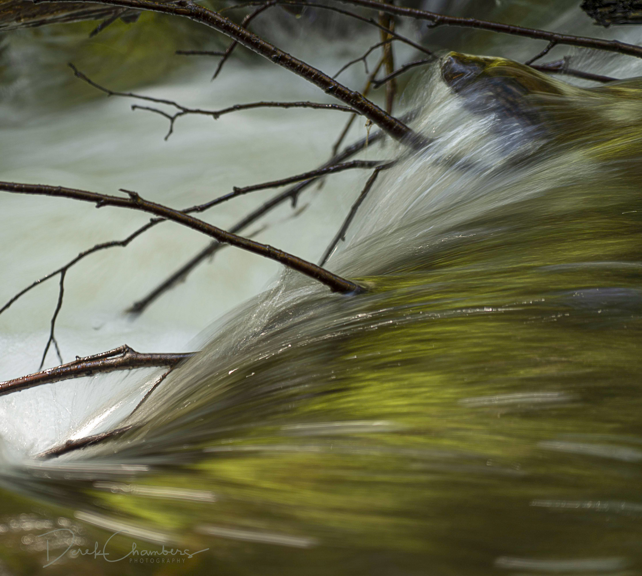 Water Curtain - Eakin Creek Canyon Provincial Park - Derek Chamb