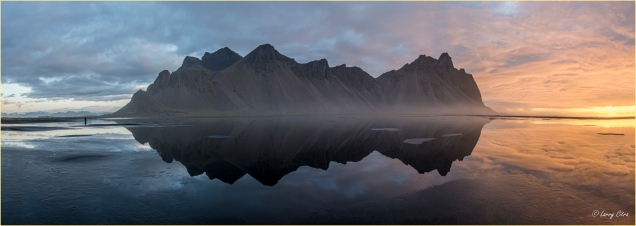Vesterhorn Iceland Pano © Larry Citra