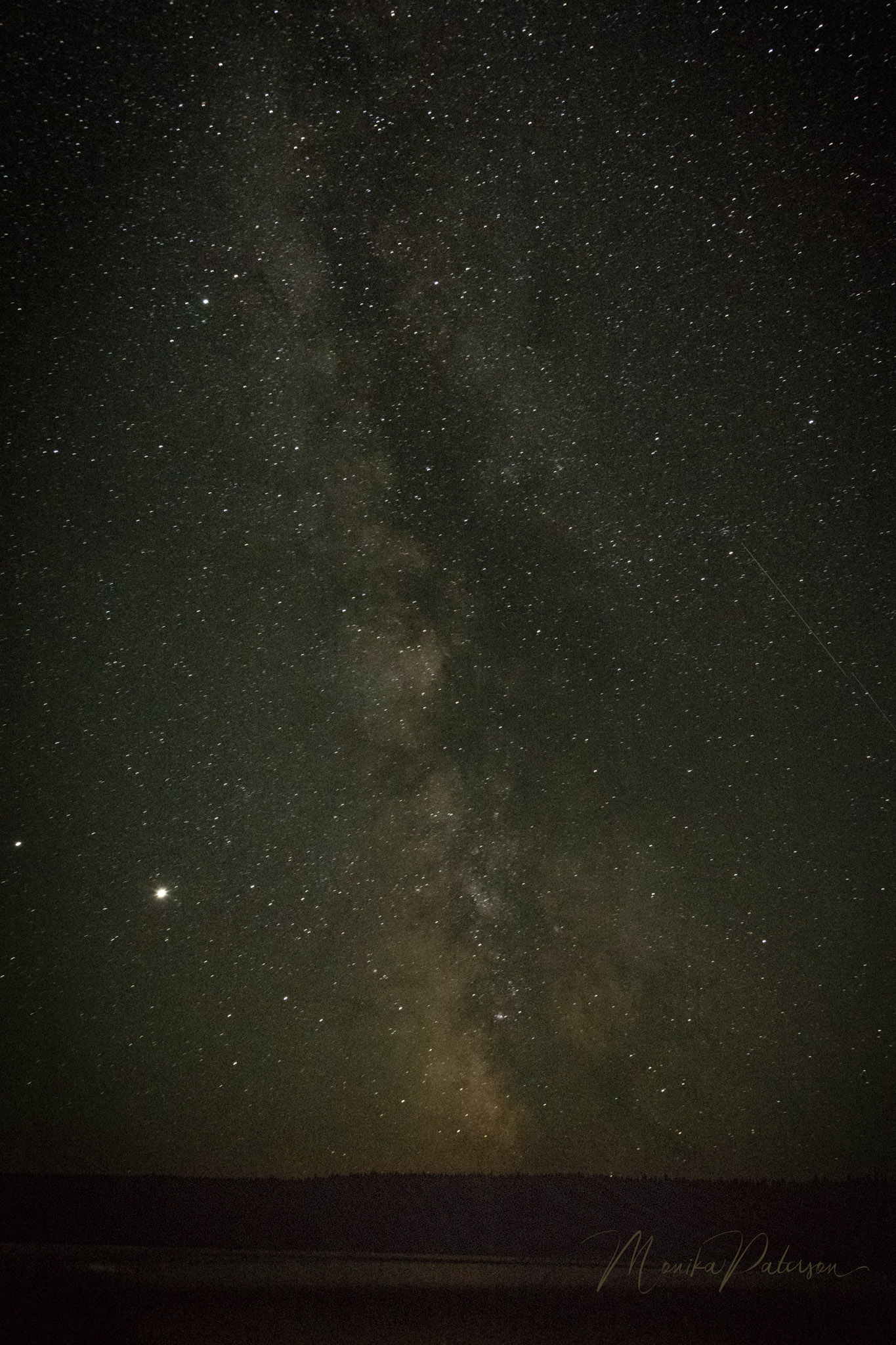 Milky Way Vertical - Monika Paterson