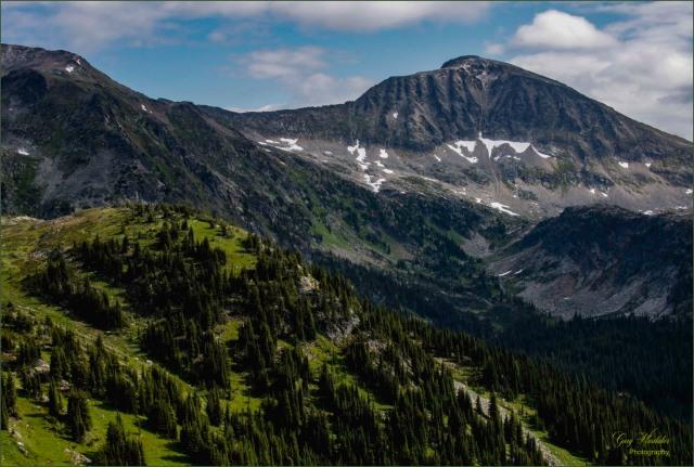 Trophy Mountain Peaks- Gary Hardaker