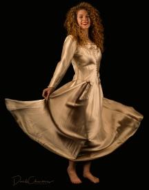 K32-S1606 - Kendra Cox in her grandmother's (and mother's) wedding dress - Derek Chambers