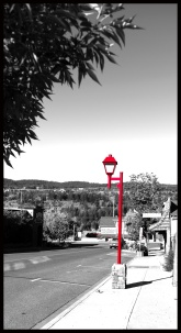 The Red Lamppost - Marilyn Niemiec