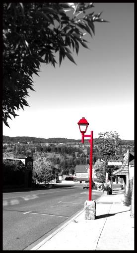 The Red Lamppost - Marilyn Niemiec