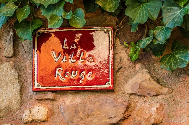 La Villa Rouge, Provence, France © Larry Citra