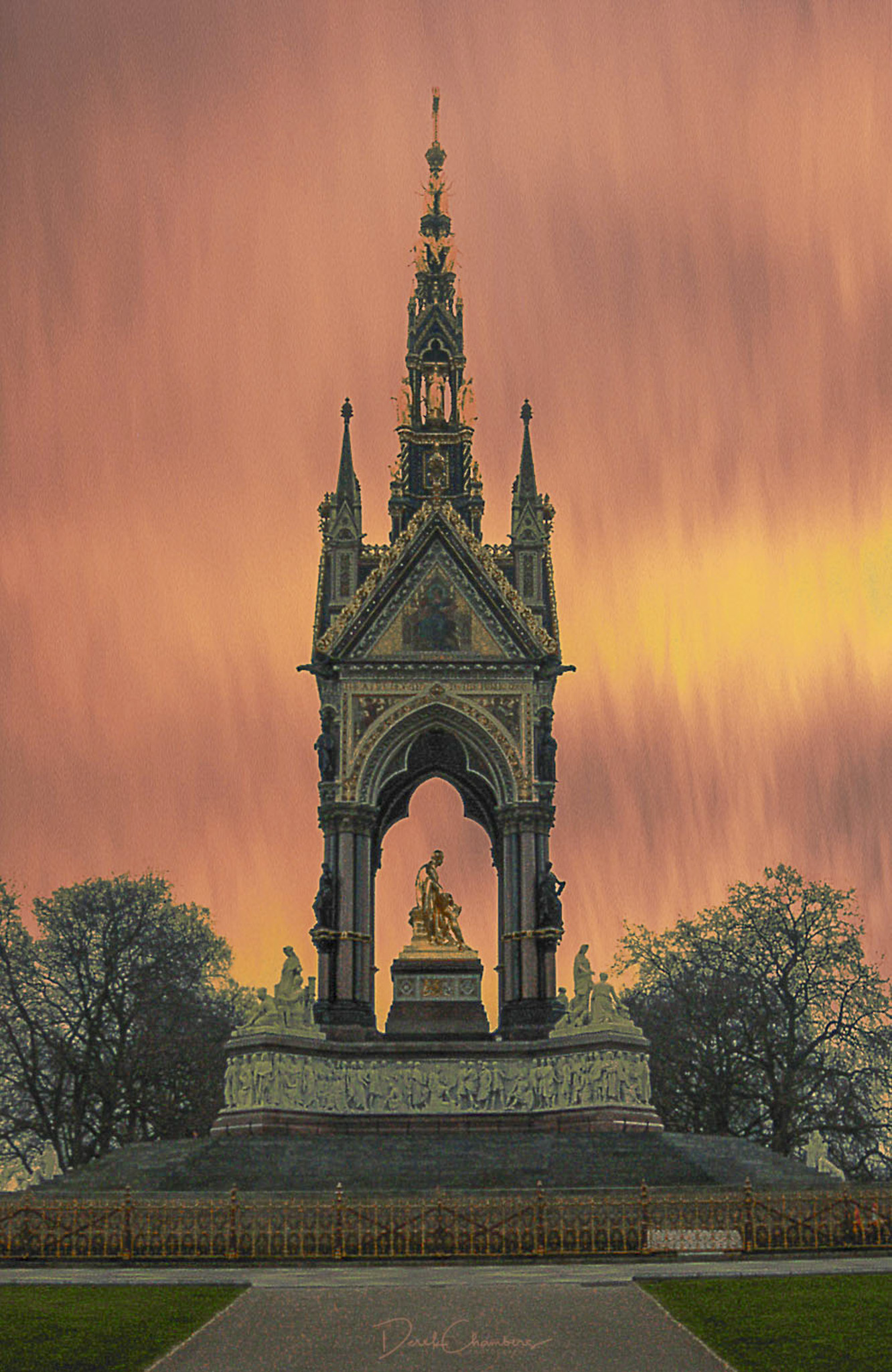 The Allbert Memorial - Derek Chambers