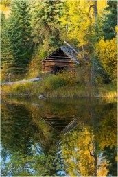 Cabin Reflection 4998 - Bill Melnychuk