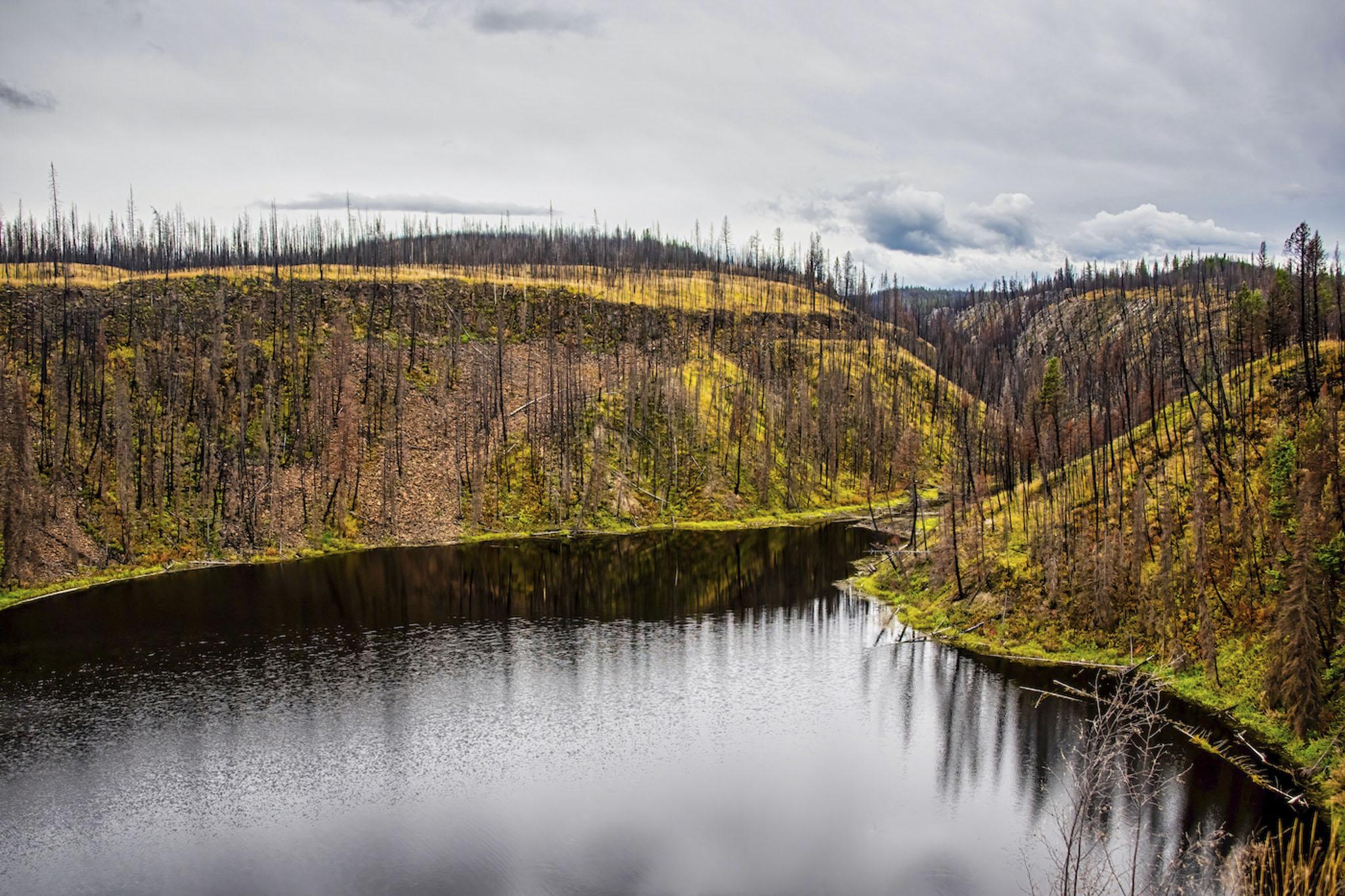 Crater Lake-2 Years Later - Carol Jackson
