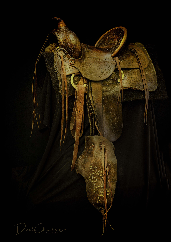 Antique Pendelton Saddle (1923) - Derek Chambers