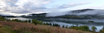Lac De Roches Pano Early Morning - Doug Boyce