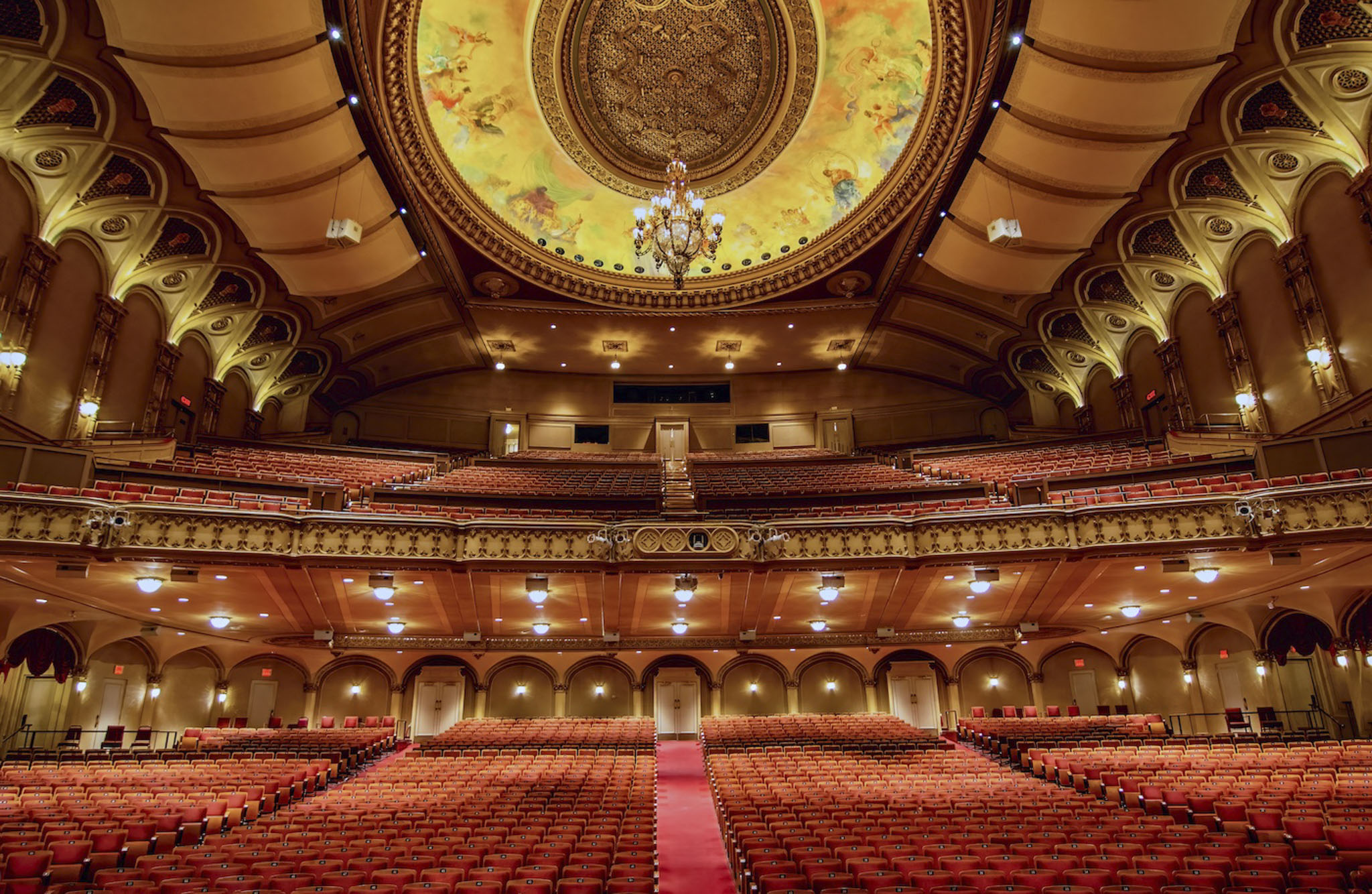 Orpheum Theatre, Vancouver - Carol Jackson