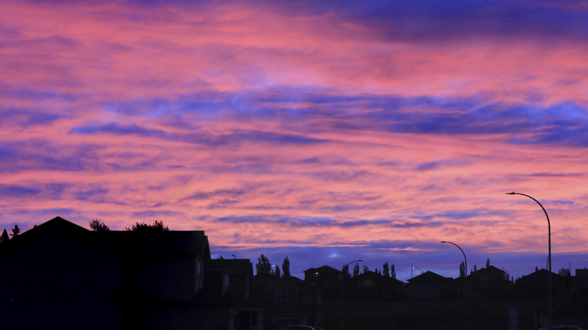 Strathmore Sunrise  - Doug Boyce