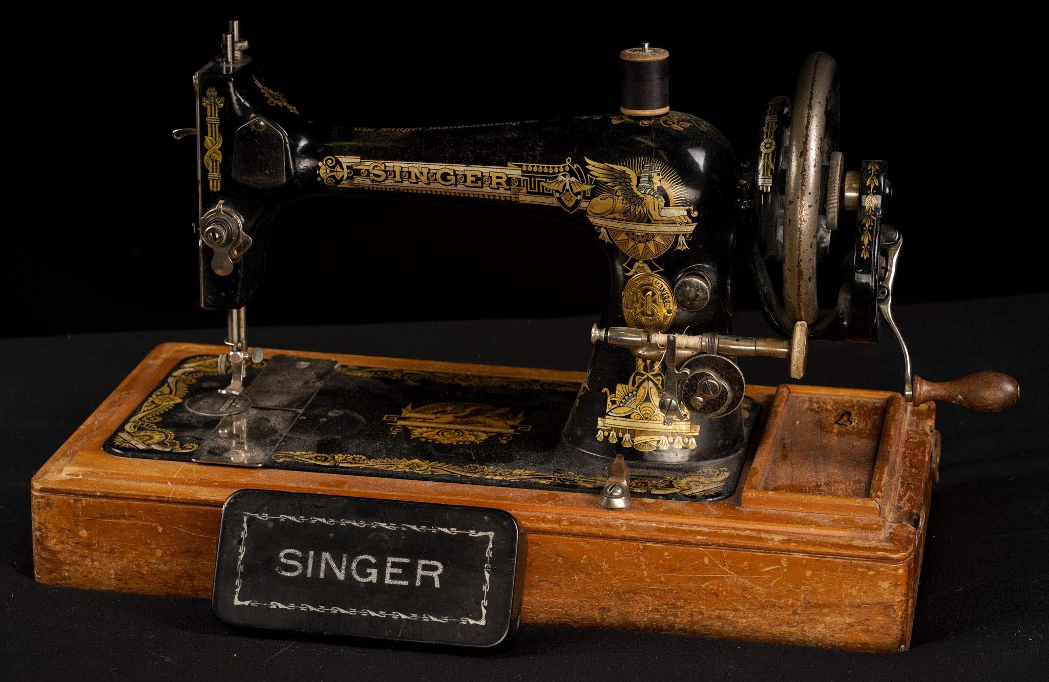 Singer Sewing Machine - Derek Chambers