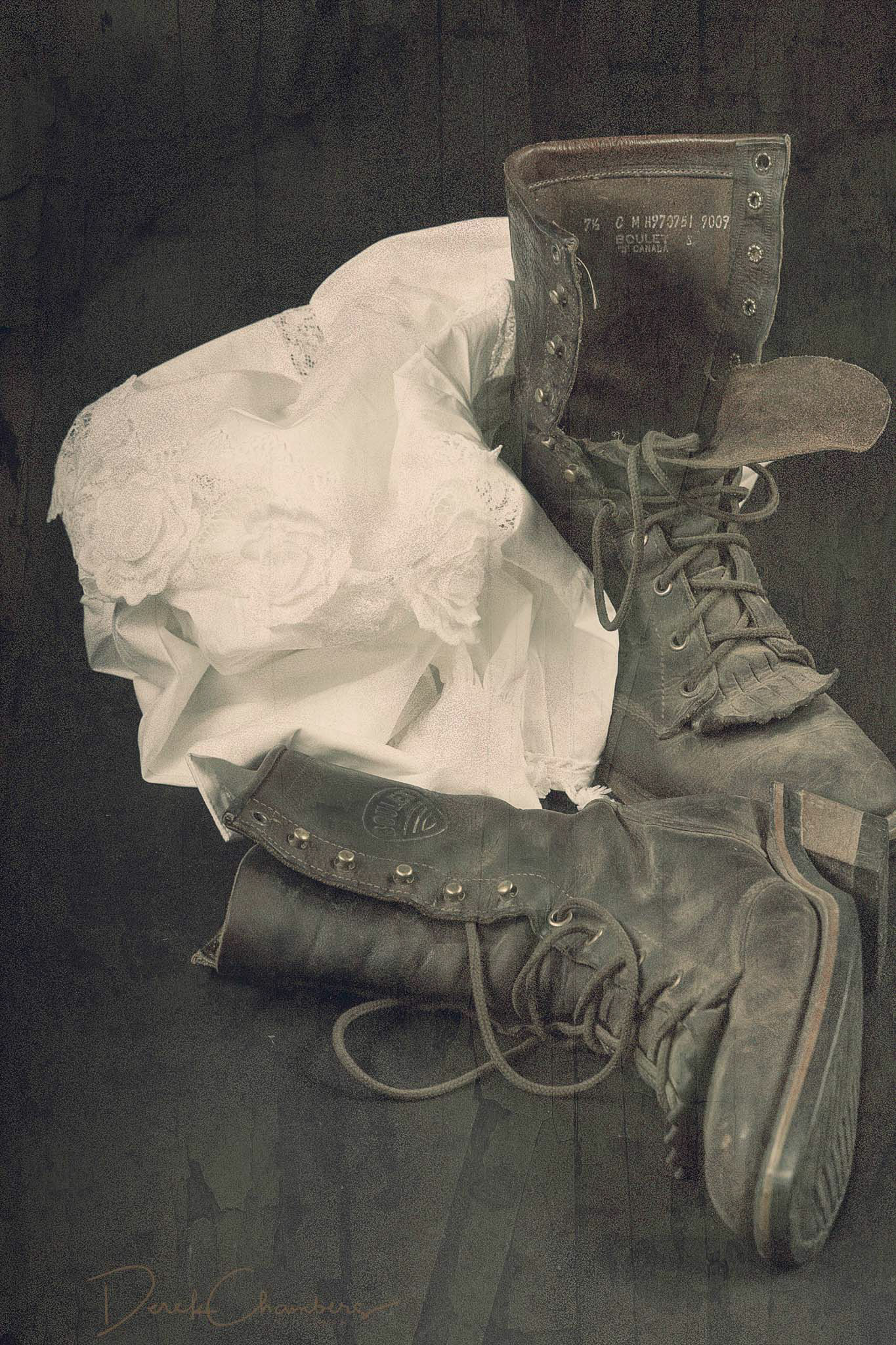 Boots and a Blouse - Derek Chambers
