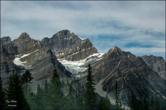 Gary Hardaker-View of Glacier (Mountain Parkway, Alberta)